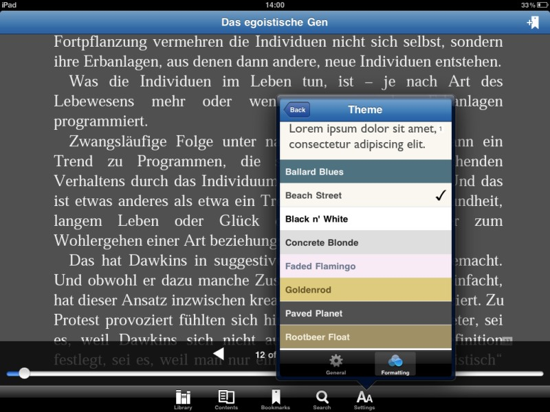 Die besten iPad-Apps - Bluefire Reader