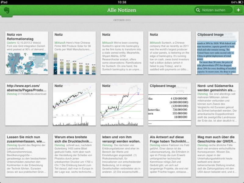 Die besten iPad-Apps - Die besten iPad-Apps - Evernote