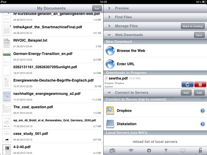 Die besten iPad-Apps - Goodreader