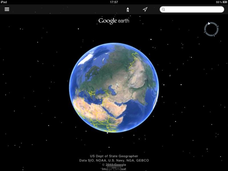 Die besten iPad-Apps - Die besten iPad-Apps - Google Earth