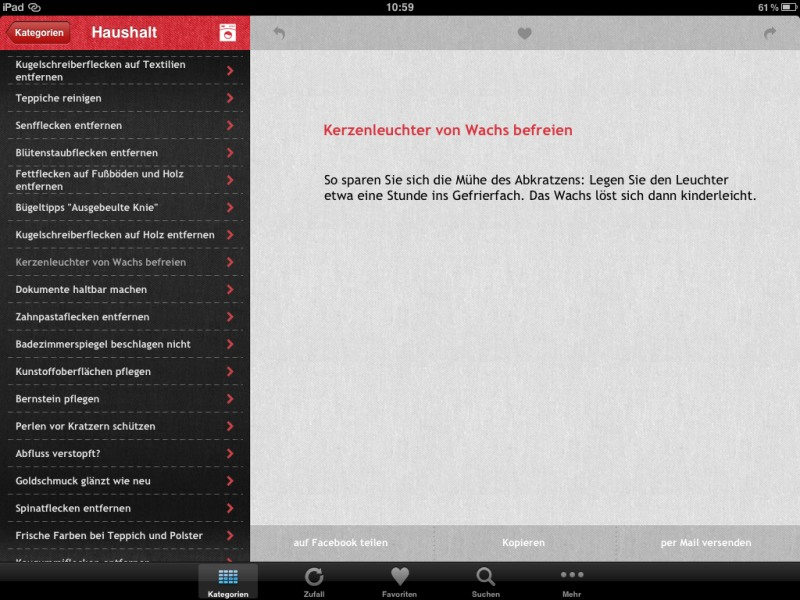 Die besten iPad-Apps - Omas Trickkiste
