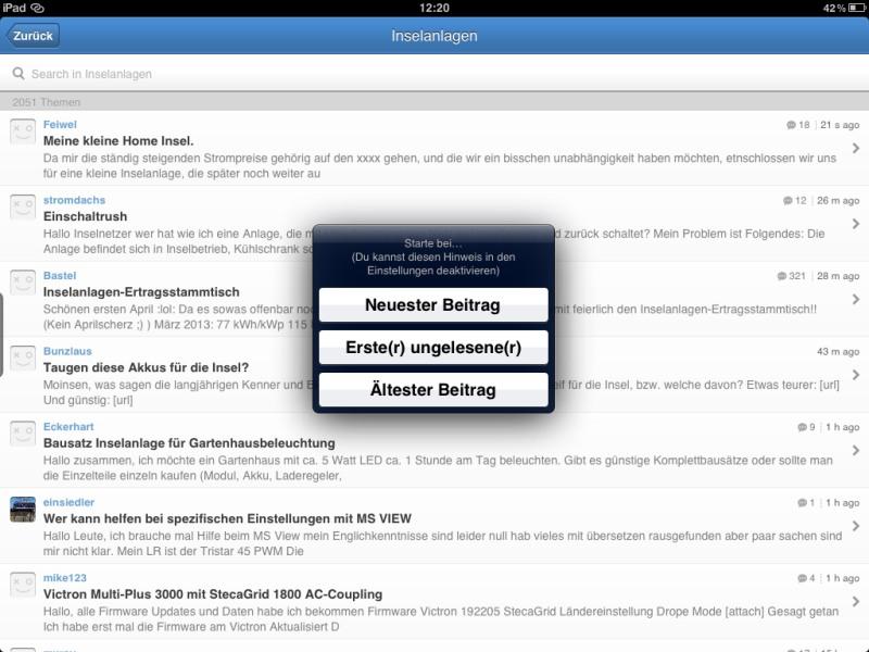 Die besten iPad-Apps - Tapatalk