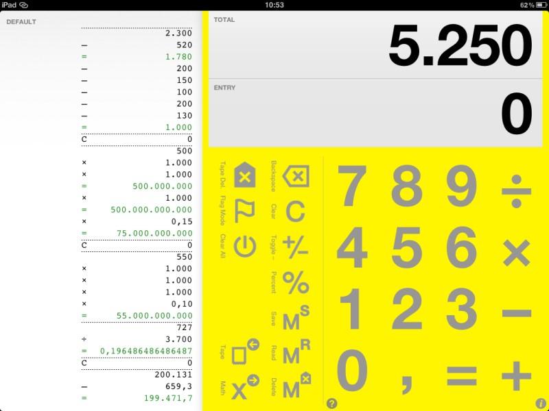 Die besten iPad-Apps - Digits