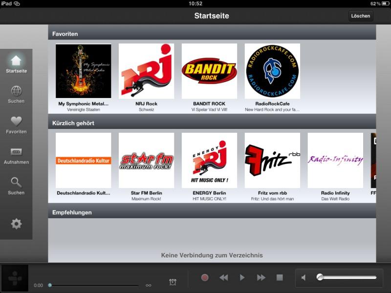 Die besten iPad-Apps - Die besten iPad-Apps - TuneIn Radio
