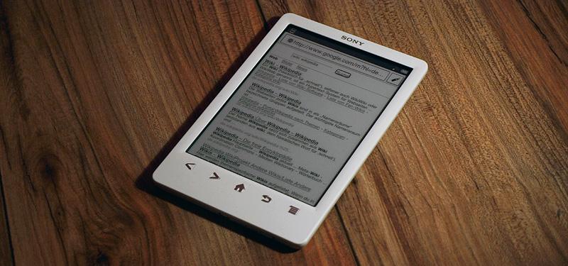 Sony Reader PRS-T3: WLAN und integrierter Browser