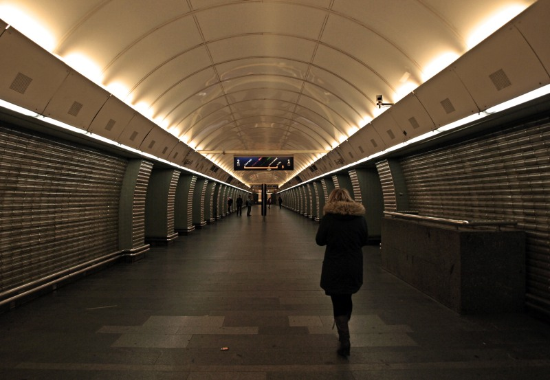 Metro Prag - Station Karlovo namesti