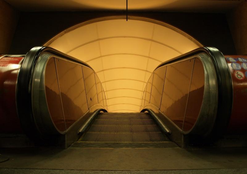 Prague Metro - Náměstí Republiky station