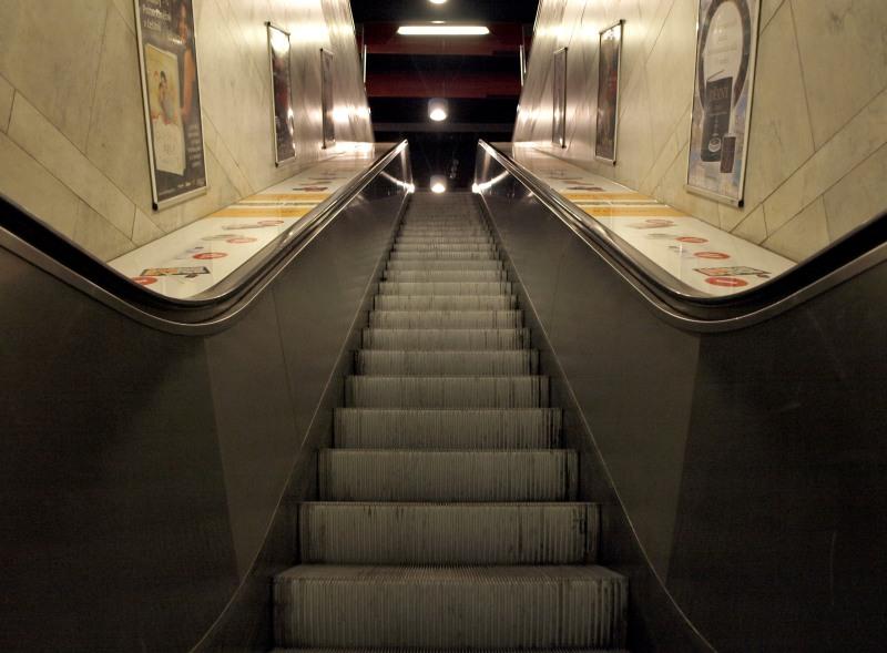 Metro Prag - Hlavní nádraží