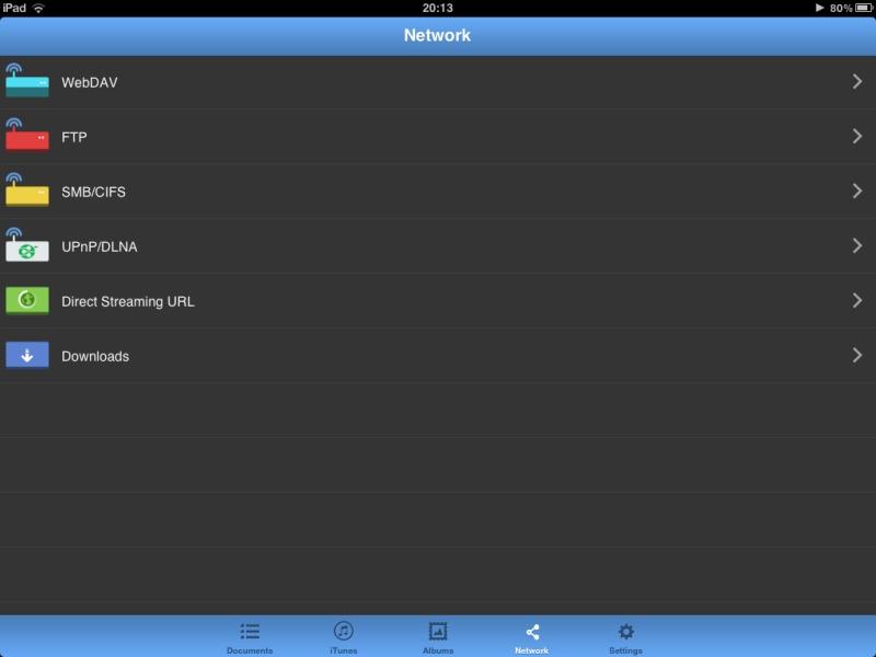 nPlayer unterstützt zahlreiche Protokolle