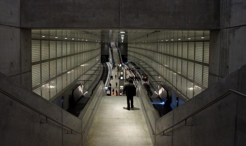 City-Tunnel Leipzig - Wilhelm-Leuschner-Platz