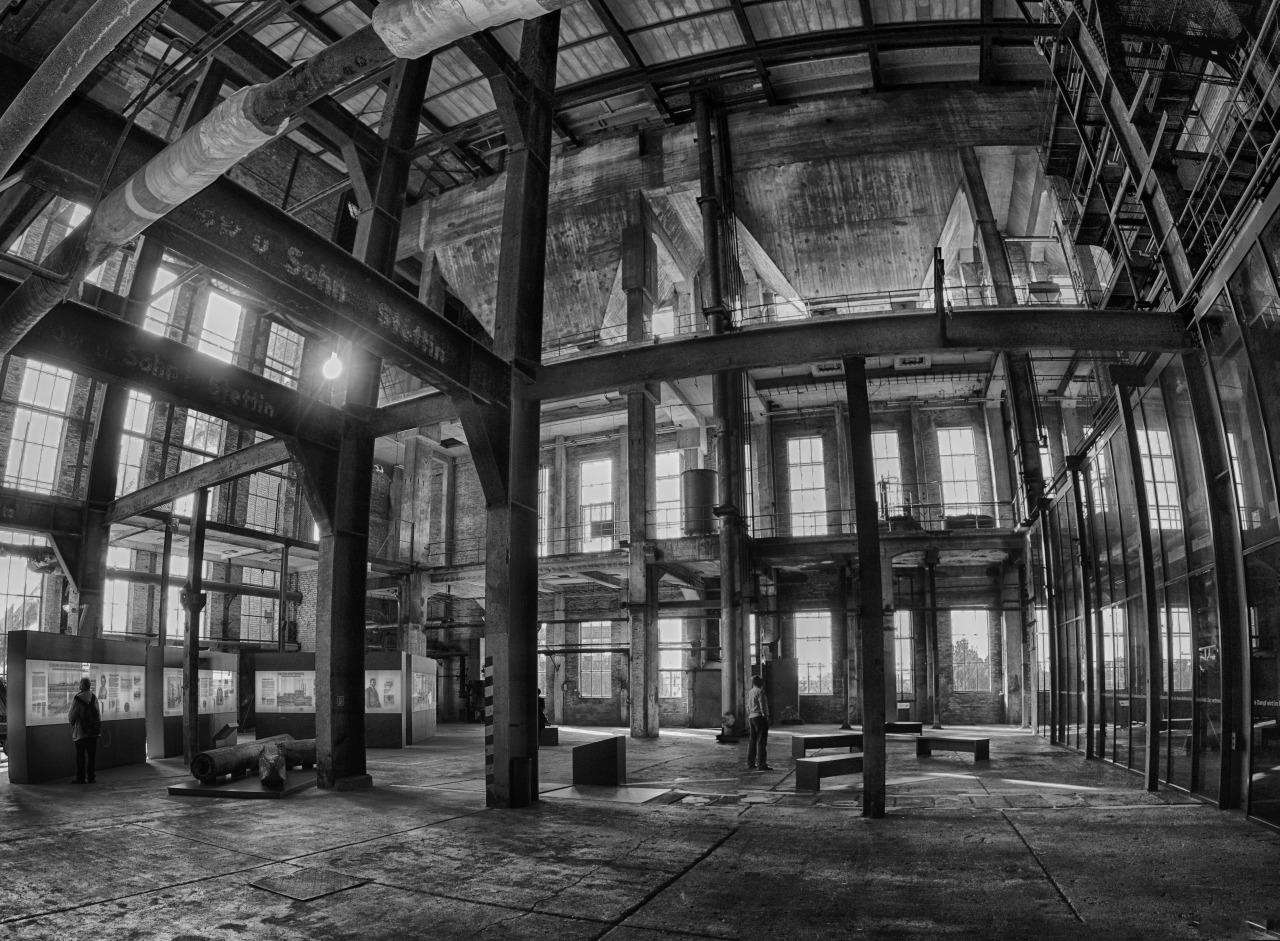 Peenemünde, historic power station