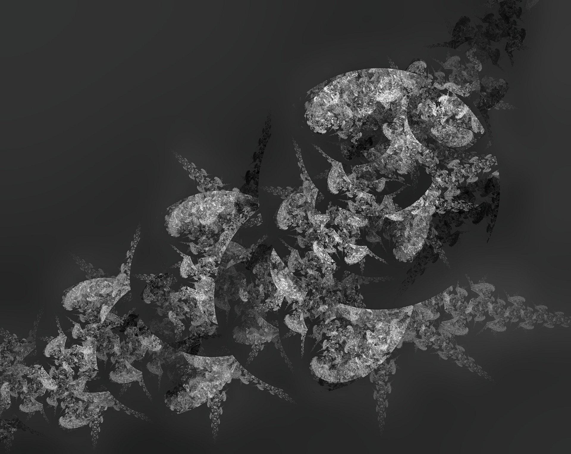 Blumenstrauß Black and White