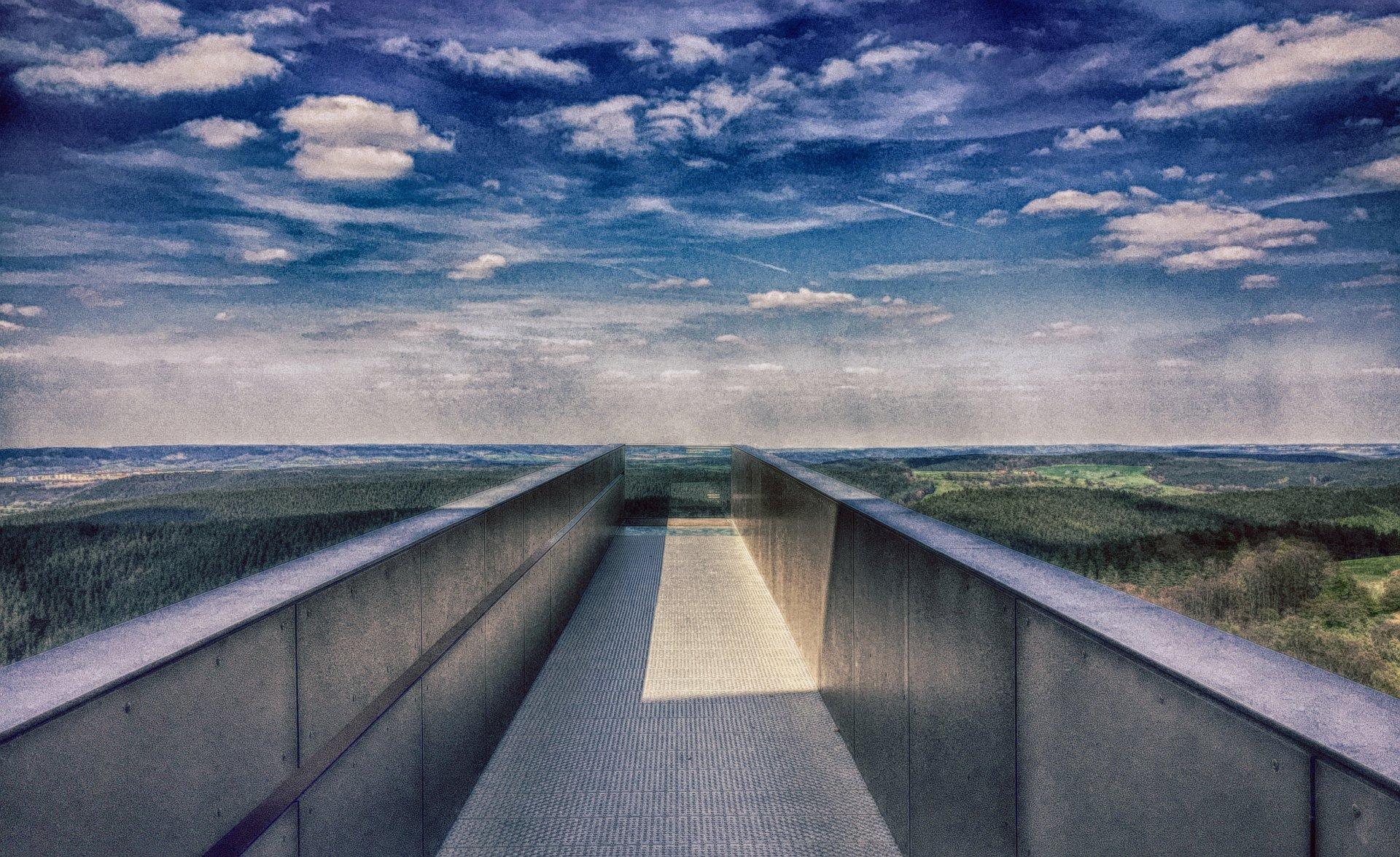 Bridge to nowhere (Leuchtenburg)
