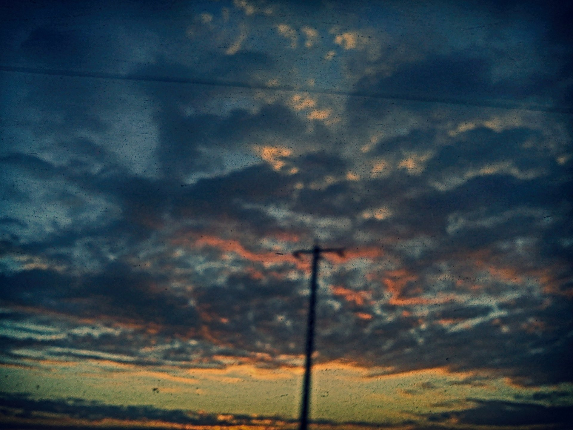 Sunrise in a train to Bucharest