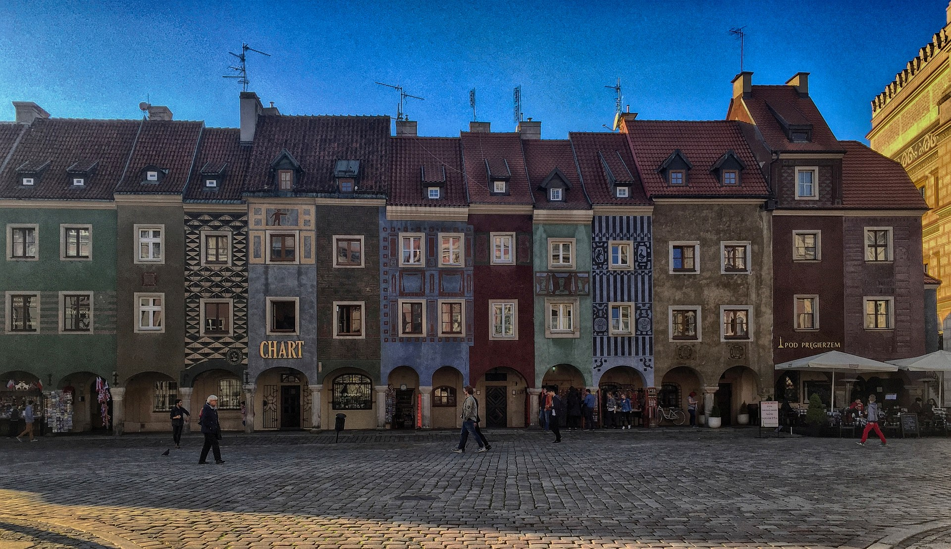 Poznań, market square