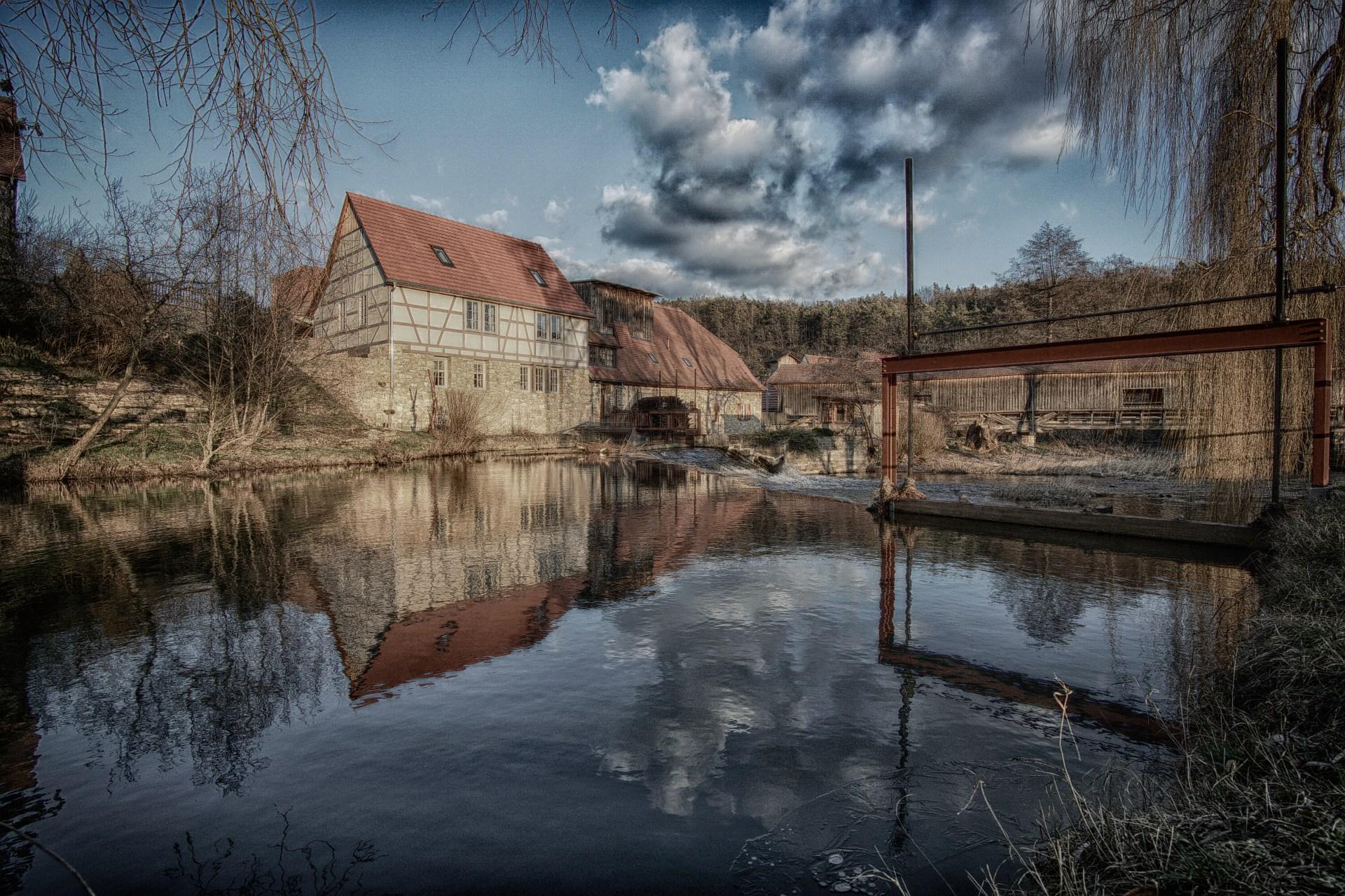 Buchfart, Wassermühle