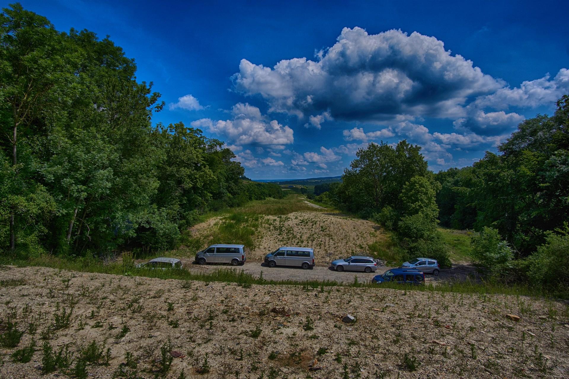 Lost place Altstrecke Bundesautobahn A4 Leutratal bei Jena