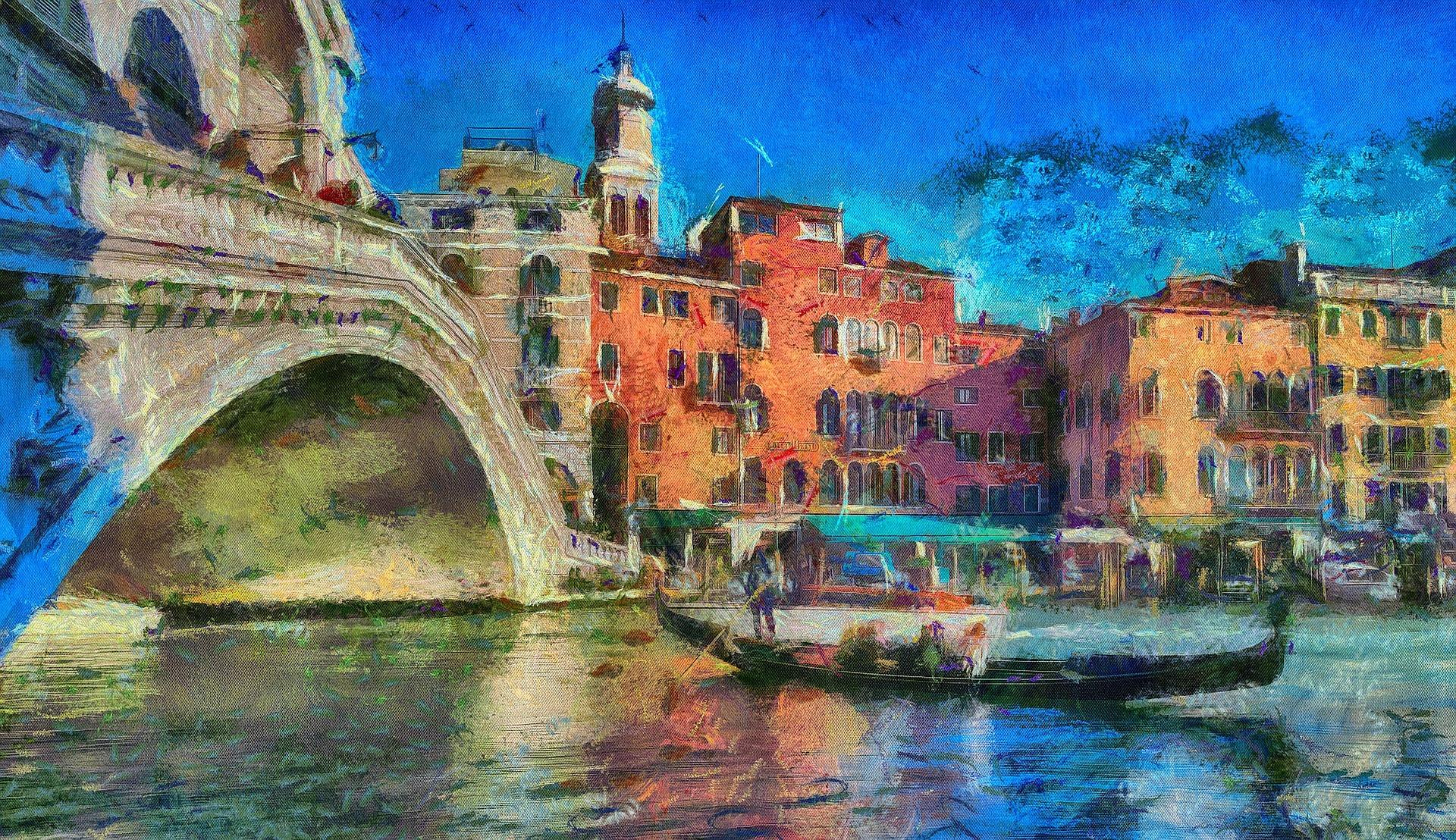 Venice in Oil