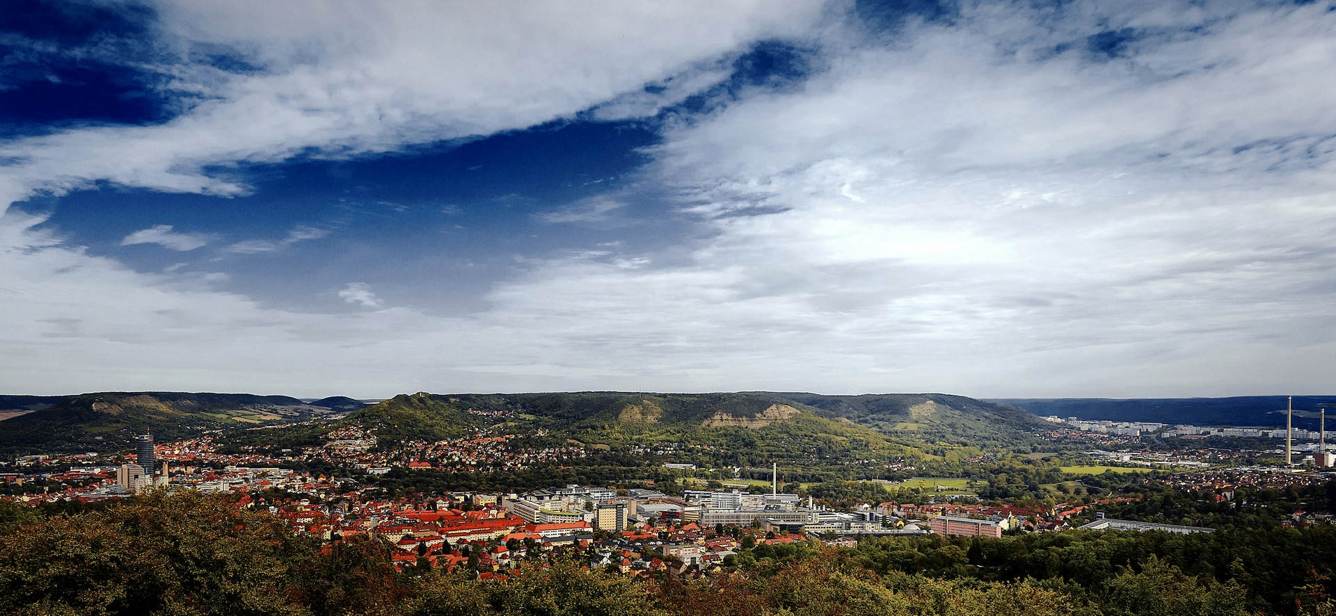 Jena Forstturm Panorama Kodachrome 25