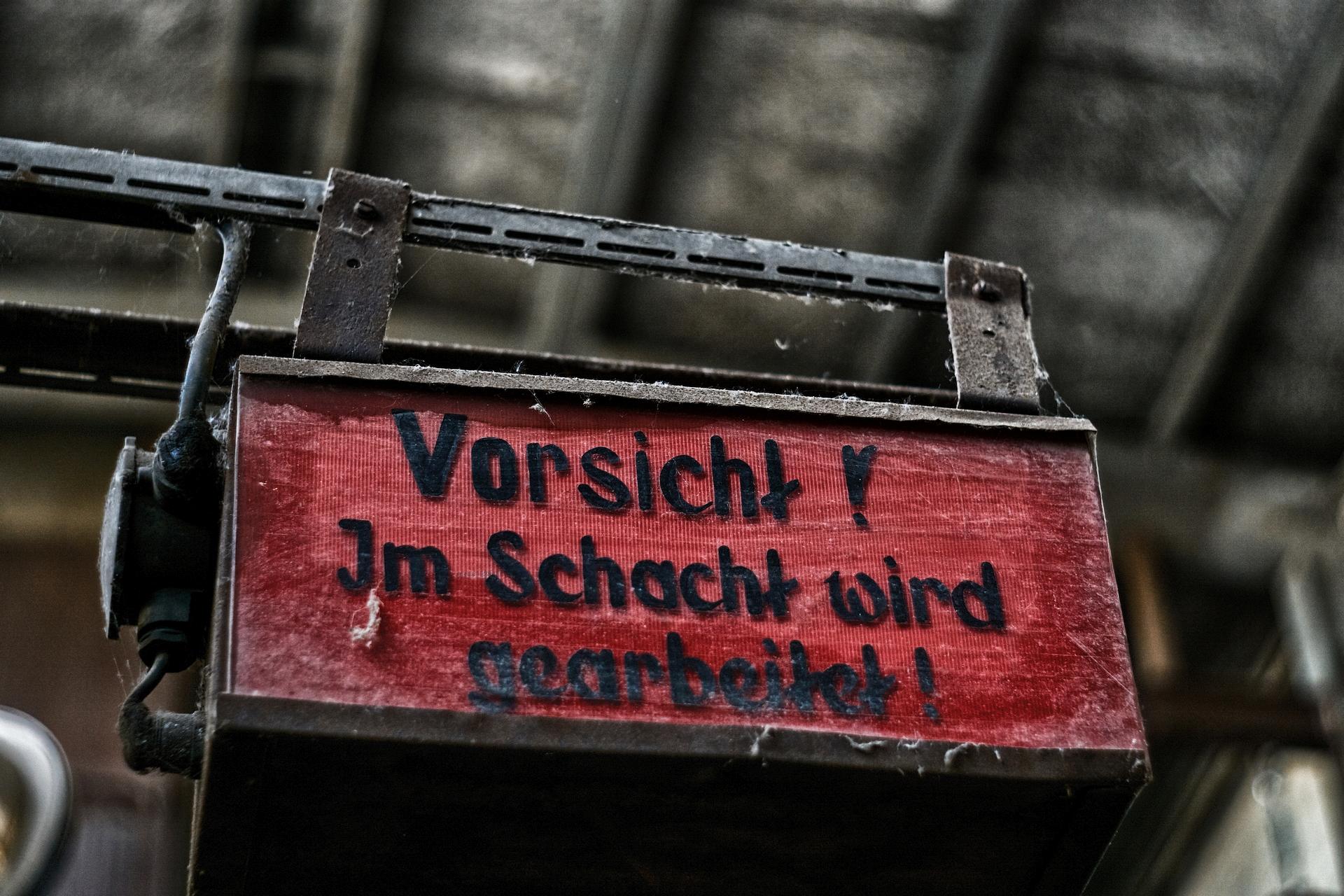 Schacht 407 Wismut Ronneburg