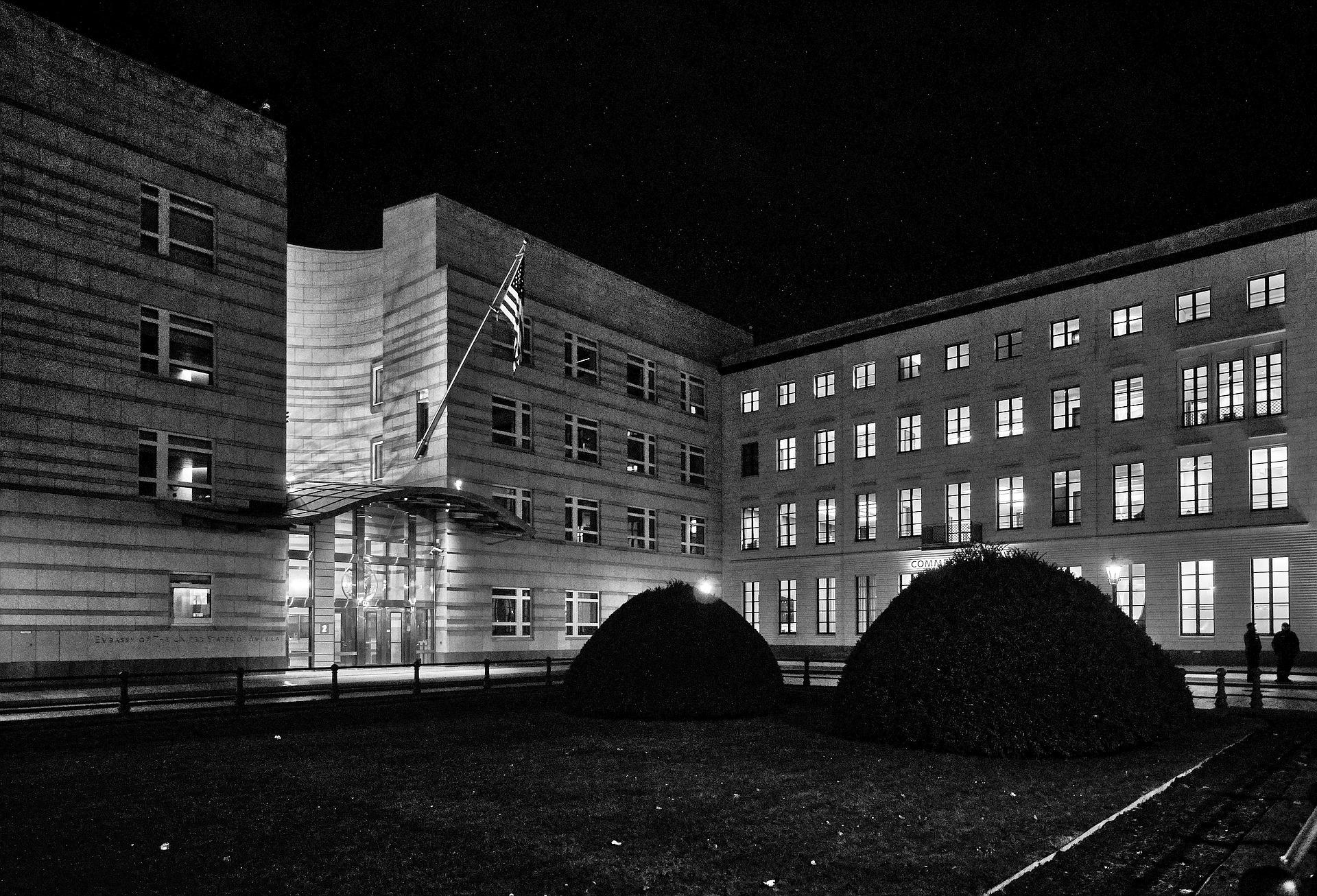 Berlin in Black - Botschaft USA