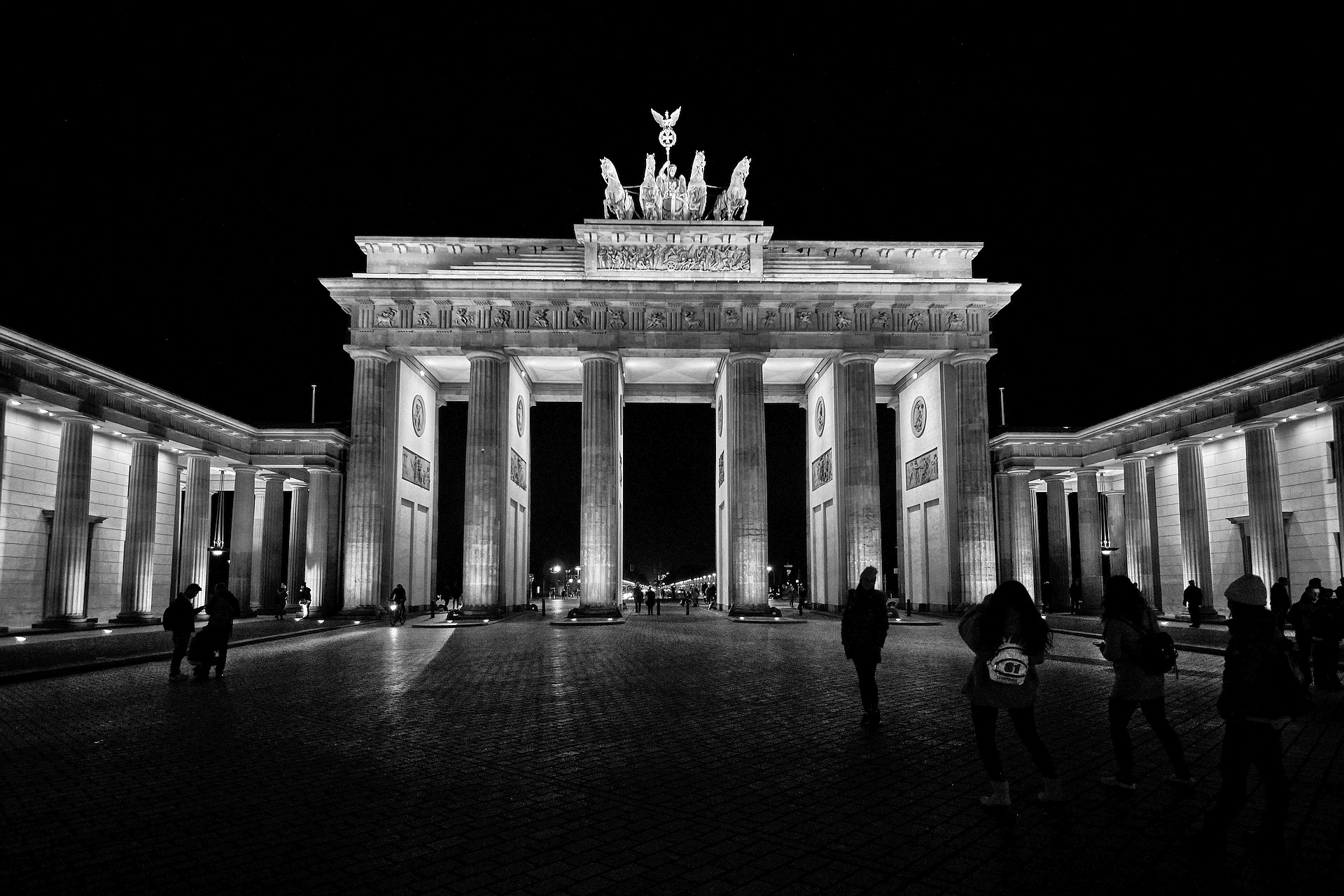 Berlin in Black - Brandenburger Tor