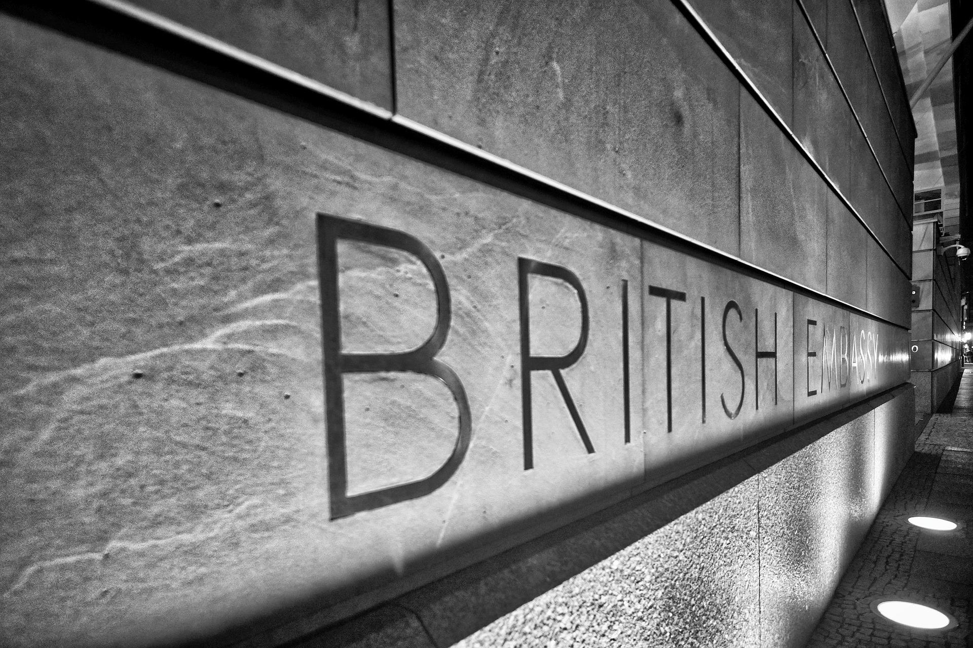 Berlin in Black - Britische Botschaft
