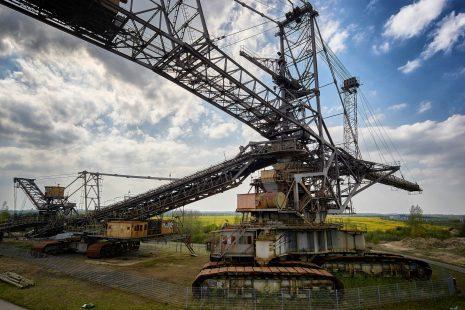 Riesenmaschinen - Bergbau-Technik-Park Leipziger Neuseenland
